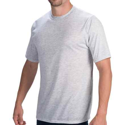 Wickers Lightweight Base Layer T-Shirt - Short Sleeve (For Men) in Grey Heather - Closeouts