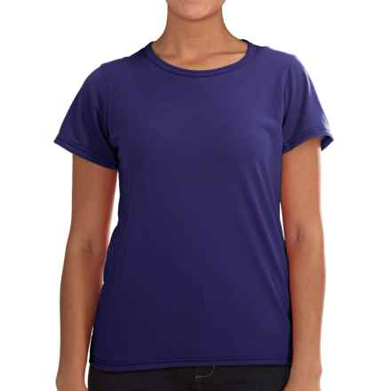 Wickers Lightweight Base Layer T-Shirt - Short Sleeve (For Women) in Bright Blue - Closeouts