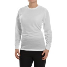 Wickers Lightweight Base Layer Top - Long Sleeve (For Women) in White - Closeouts