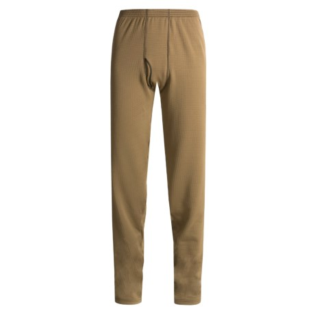 Wickers Long Underwear Bottoms - Expedition Weight, Comfortrel®  (For Men) in Brown