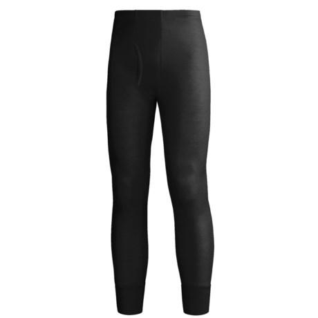 Wickers Long Underwear Bottoms - Lightweight, Comfortrel® (For Men) in Black