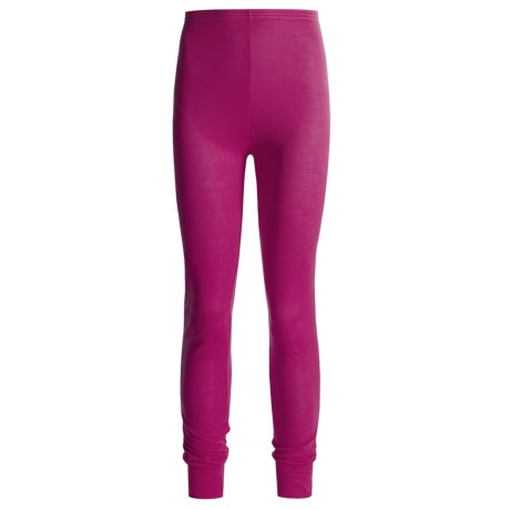 Wickers Long Underwear Bottoms - Lightweight, Comfortrel® (For Women) in Dark Pink