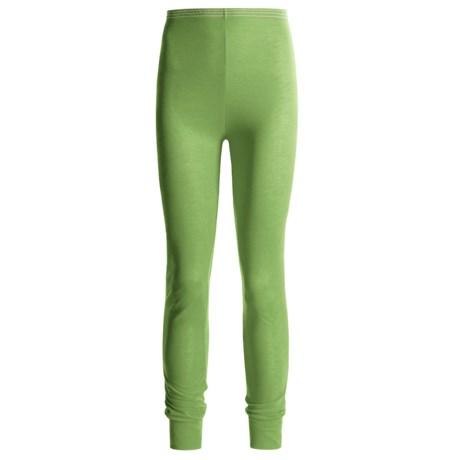 Wickers Long Underwear Bottoms - Lightweight, Comfortrel® (For Women) in Green