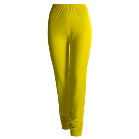 Wickers Long Underwear Bottoms - Lightweight, Comfortrel® (For Women) in Mustard