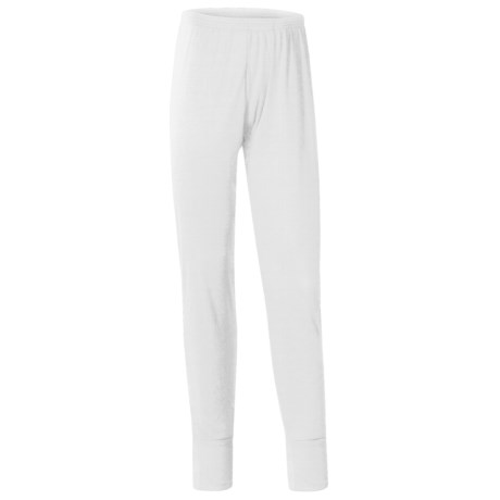 Wickers Long Underwear Bottoms - Midweight, Comfortrel® (For Men) in White
