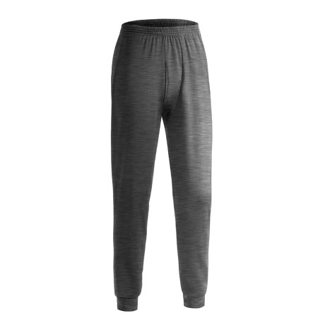 Wickers Long Underwear Bottoms - Midweight, Comfortrel® (For Tall Men) in Charcoal