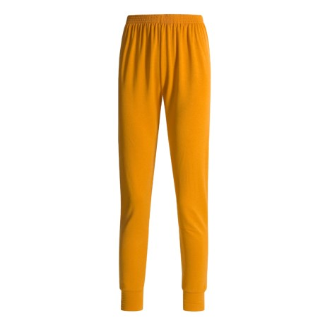 Wickers Long Underwear Bottoms - Midweight, Comfortrel® (For Women) in Orange