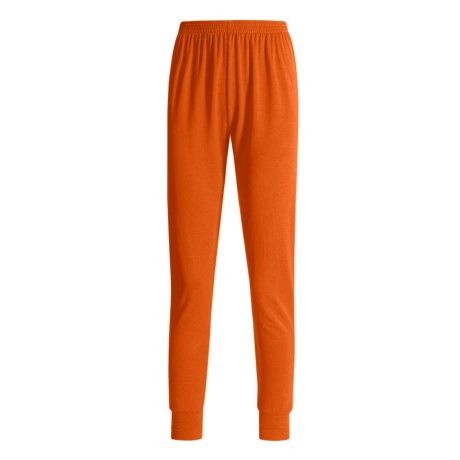 Wickers Long Underwear Bottoms - Midweight, Comfortrel® (For Women) in Red Orange