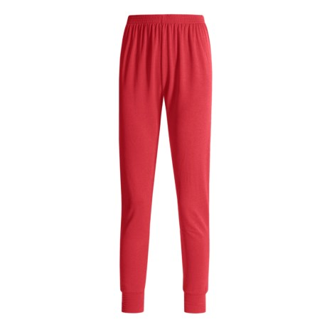 Wickers Long Underwear Bottoms - Midweight, Comfortrel® (For Women) in Red
