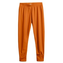Wickers Long Underwear Bottoms - Midweight (For Kids) in Burnt Orange - 2nds