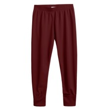 Wickers Long Underwear Bottoms - Midweight (For Kids) in Plum - 2nds
