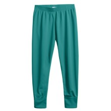 Wickers Long Underwear Bottoms - Midweight (For Kids) in Teal - 2nds