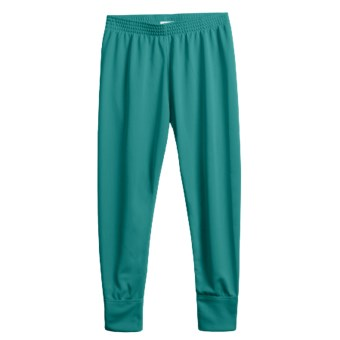 Wickers Long Underwear Bottoms - Midweight (For Kids) in Teal