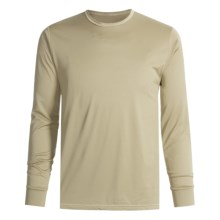Wickers Long Underwear Shirt - Comfortrel®, Moisture-Wicking, Long Sleeve (For Tall Men) in Natural - 2nds