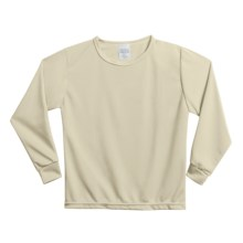 Wickers Long Underwear Shirt - Midweight, Moisture-Wicking, Long Sleeve (For Kids) in Natural - 2nds