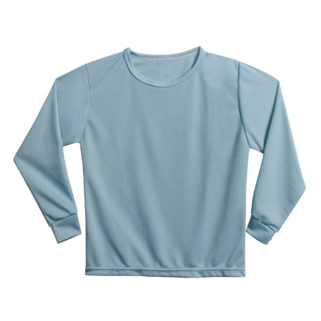 Wickers Long Underwear Shirt - Midweight, Moisture-Wicking, Long Sleeve (For Kids)