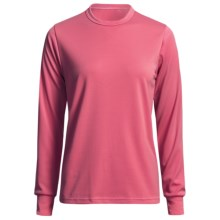 Wickers Long Underwear Top - Comfortrel® Polyester, Lightweight (For Women) in Bright Pink - 2nds