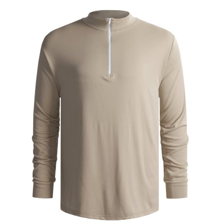 Wickers Long Underwear Top - Long Sleeve (For Men) in Tan