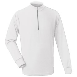 Wickers Long Underwear Top - Long Sleeve (For Men) in White