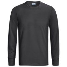 Wickers Long Underwear Top - Midweight, Comfortrel®, Long Sleeve (For Tall Men) in Black - 2nds