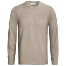 Wickers Long Underwear Top - Midweight, Comfortrel®, Long Sleeve (For Tall Men) in Natural - 2nds