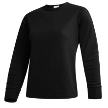 Wickers  Long Underwear Top - Midweight Comfortrel®, Long Sleeve (For Women) in Black - 2nds