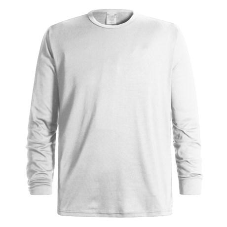 Wickers Long Underwear Top - Midweight, Long Sleeve (For Men) in White