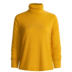 Wickers Long Underwear Turtleneck - Midweight, Comfortrel® (For Women) in Gold