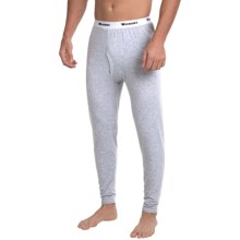 Wickers Midweight Base Layer Bottoms (For Tall Men) in Grey Heather - Closeouts