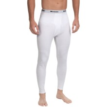 Wickers Midweight Base Layer Bottoms (For Tall Men) in White - Closeouts