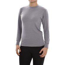 Wickers Midweight Base Layer Top - Long Sleeve (For Women) in Grey Heather - Closeouts