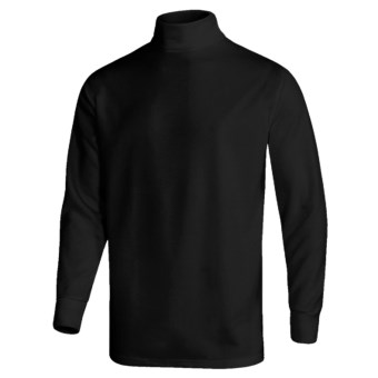 Wickers Turtleneck - Midweight, Comfortrel® (For Men) in Black