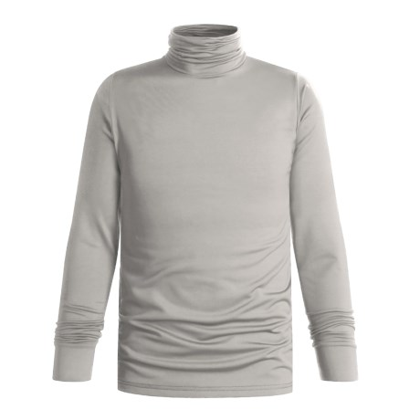Wickers Turtleneck - Midweight, Comfortrel® (For Men) in Light Grey