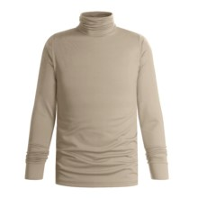 Wickers Turtleneck - Midweight, Comfortrel® (For Men) in Tan - 2nds