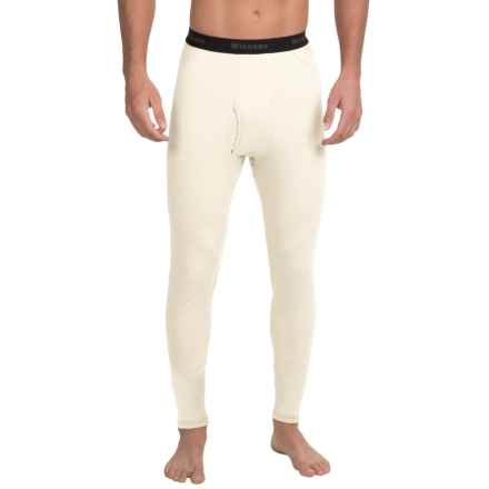 Wickers Visco Base Layer Bottoms - Merino Wool Blend (For Men) in Ecru - Closeouts