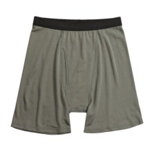 Wickers Wool Blend Boxer Briefs - Underwear (For Men) in Foliage Green - Closeouts