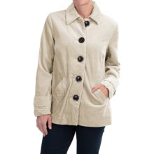 Wide-Wale Corduroy Jacket (For Women) in Off White - 2nds