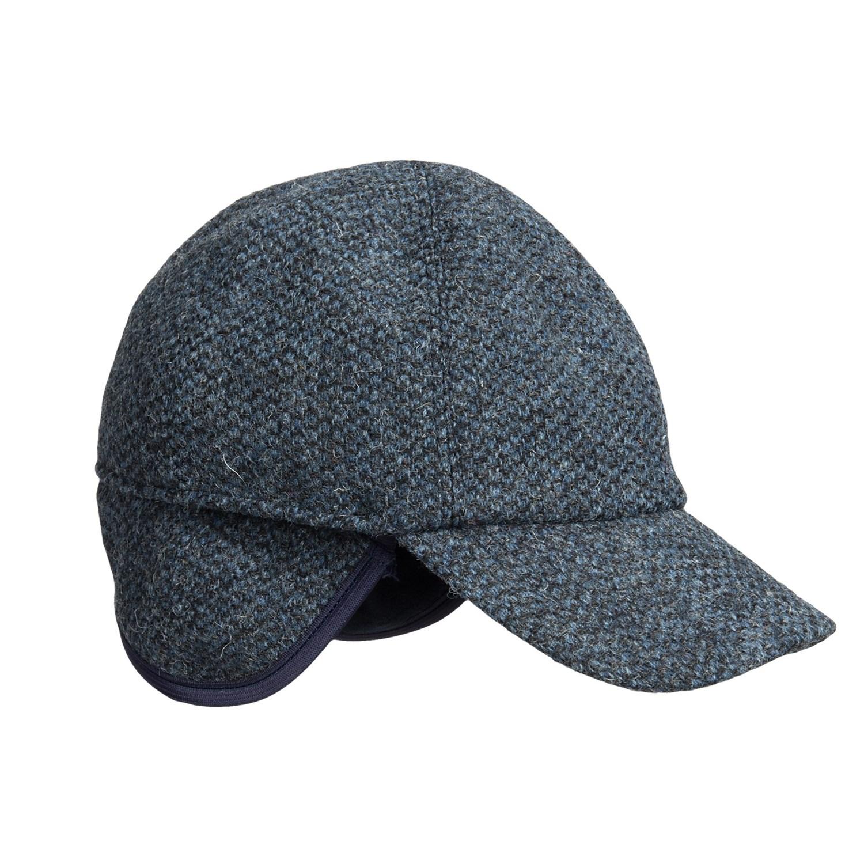 wigens fancy baseball cap wool ear flaps save 83