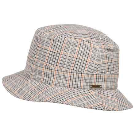 Wigens Plaid Bucket Cap (For Men) in Tan - Closeouts
