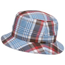 Wigens Plaid Bucket Cap - Mesh Lined (For Men) in Multi - Closeouts