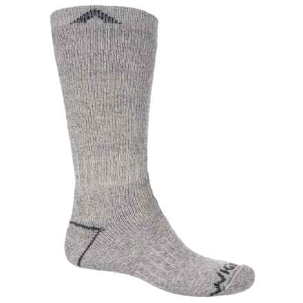 Wigwam 40 Below II Socks - Over the Calf (For Men and Women) in Light Grey - 2nds