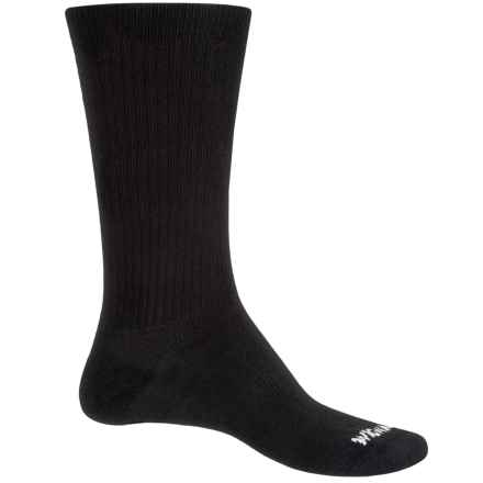 Wigwam Absolute Socks - Crew (For Men and Women) in Black - Closeouts