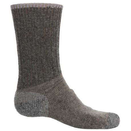 Wigwam All-Weather Boot Socks - Merino Wool Blend, Crew (For Women) in Camel