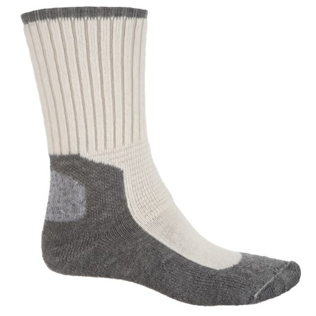 Wigwam At Work Dura Pro Socks - Crew (For Men) in Natural/Grey
