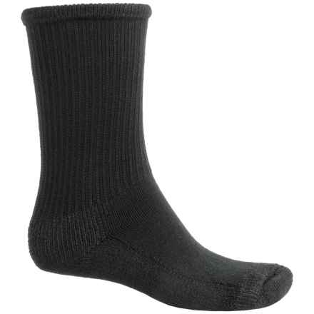 Wigwam At Work Steel Toe Socks - Crew (For Men) in Black - 2nds