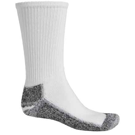 Wigwam At Work Steel Toe Socks - Crew (For Men) in White/Black - 2nds
