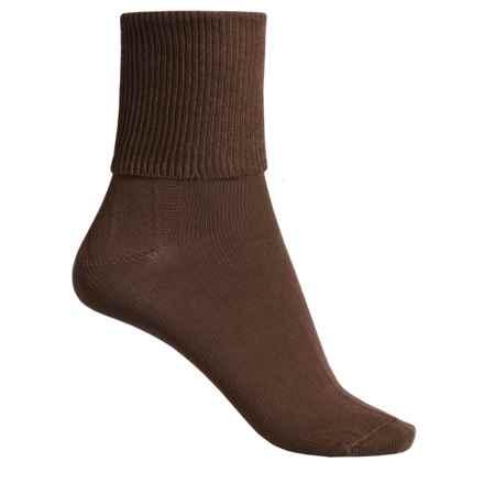 Wigwam Breeze II Socks - TENCEL®, Crew (For Women) in Brown - Closeouts