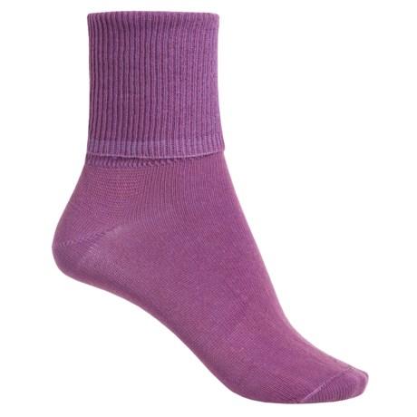 Wigwam Breeze II Socks - TENCEL®, Crew (For Women) in Purple