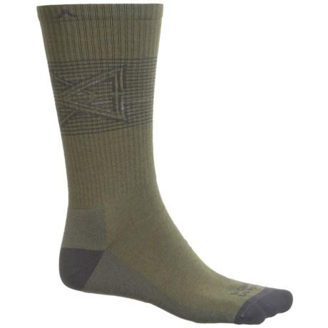 Wigwam Broken Arrow Pro Socks - Merino Wool, Crew (For Men and Women) in Olive