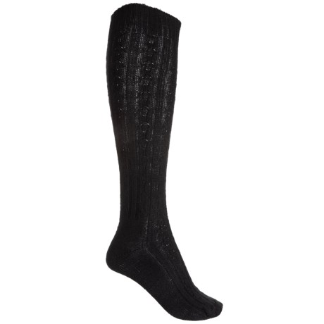 e27d1b001 Wigwam Cable Knee-High Socks (For Women) - Save 60%